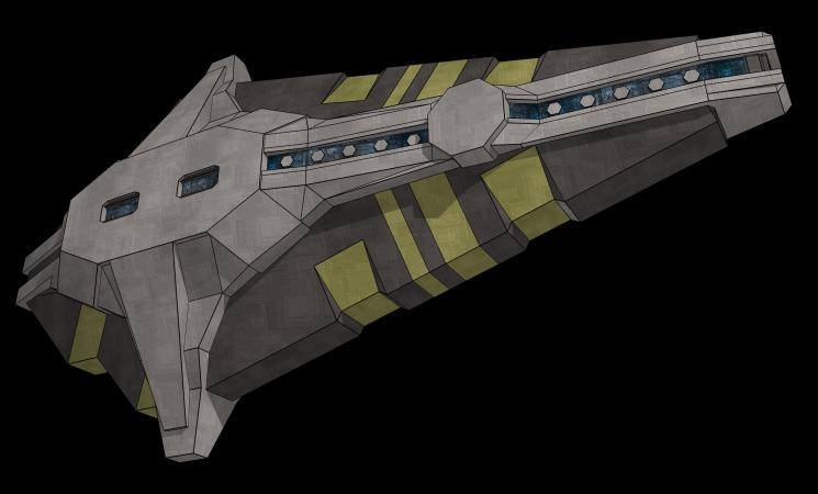 Spaceship in Sketchup by Zirik