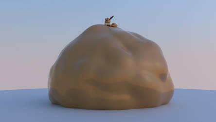 Biggest vee 2 (vore) by ReddYYDude