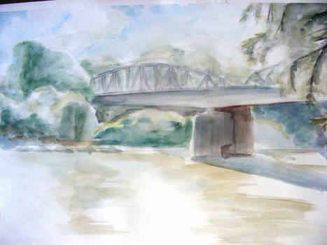 Bridge on the Tisza