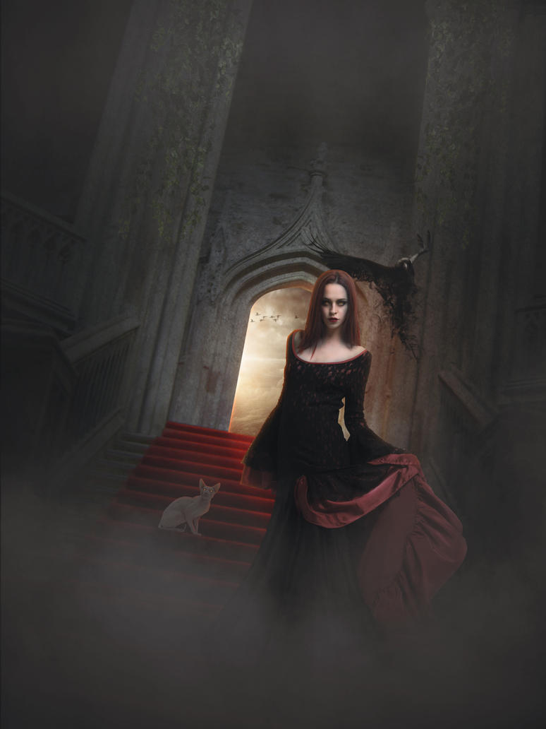 Goddess of the Night by DigitalBullshit