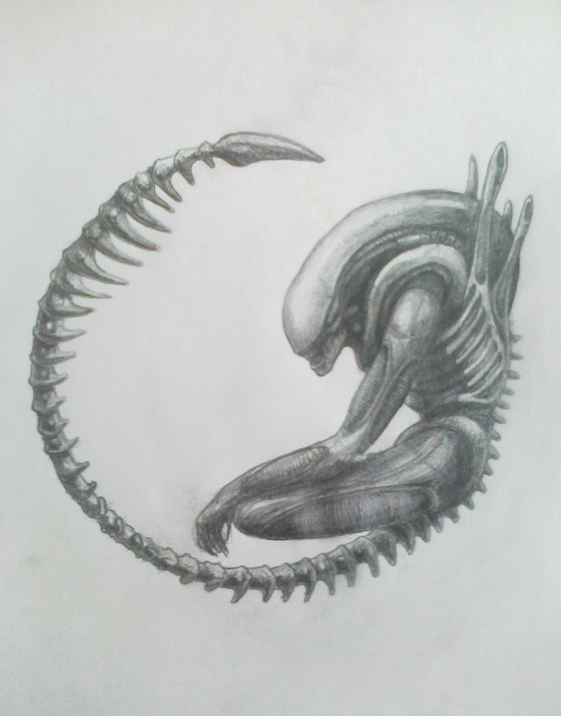 Alien by Tomujoki
