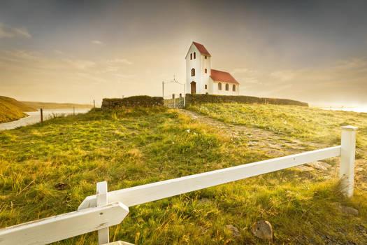 Ulfljotsvatn Church, Iceland