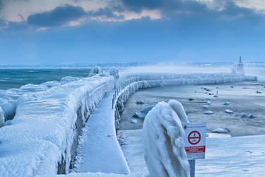 Versoix Ice, Switzerland by cwaddell