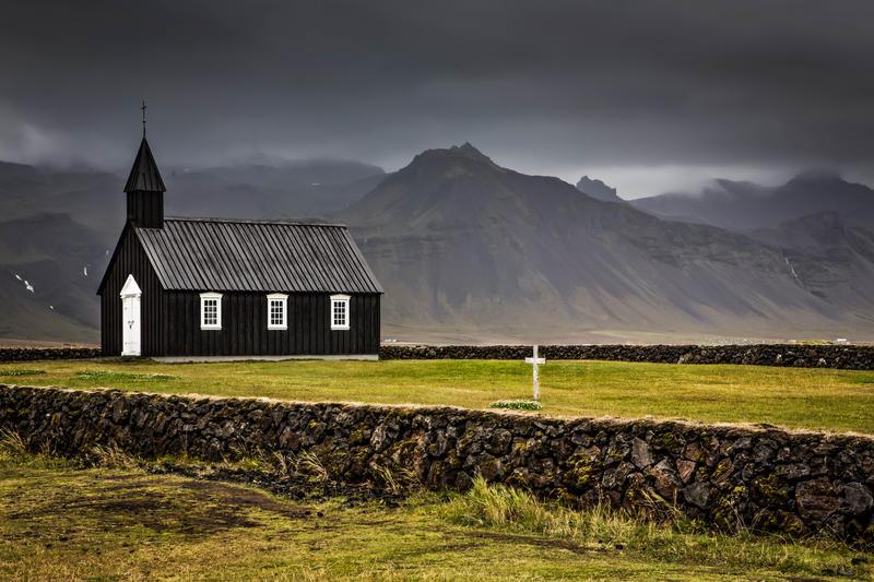 Black Church - Budir, Iceland by cwaddell