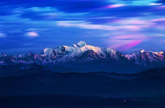 Mt. Blanc Sunset
