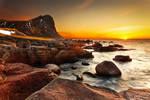 Myrland Beach Sunset