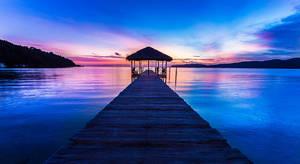 Saracen Bay Sunrise by cwaddell