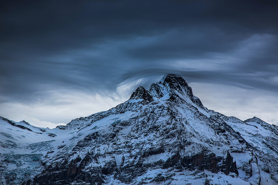 The Schreckhorn by cwaddell