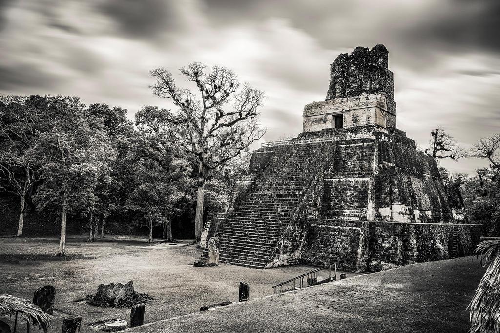 Tikal, Guatemala by cwaddell