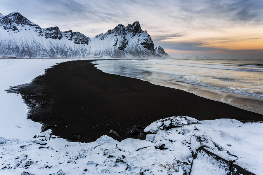 Vestrahorn Beach by cwaddell