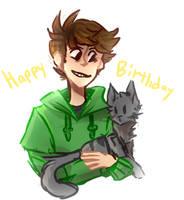 Happy Birthday Edd by Pasmix