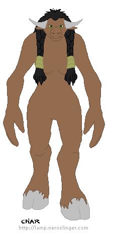 WoW Base Tauren Female by sockinamoshpit