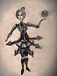 Orianna Dark Side by surtea