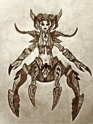Arachne the Weaver by surtea