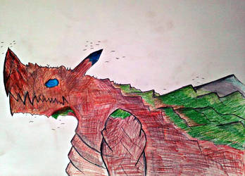 Geb Earth Dragon by surtea