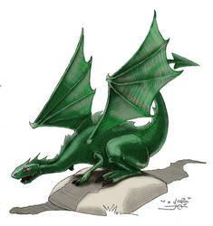 Little Dragon by iuraia