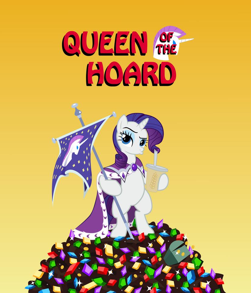 Queen of the Hoard by zoarvek