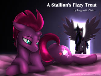 A Stallion's Fizzy Treat by zoarvek