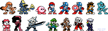 Neopockets Random Characters by animpoket