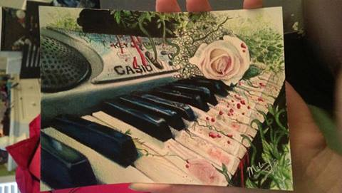 Piano Rose by EveryRoseHasThornz