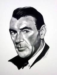 Gary Cooper by avintagedreamer