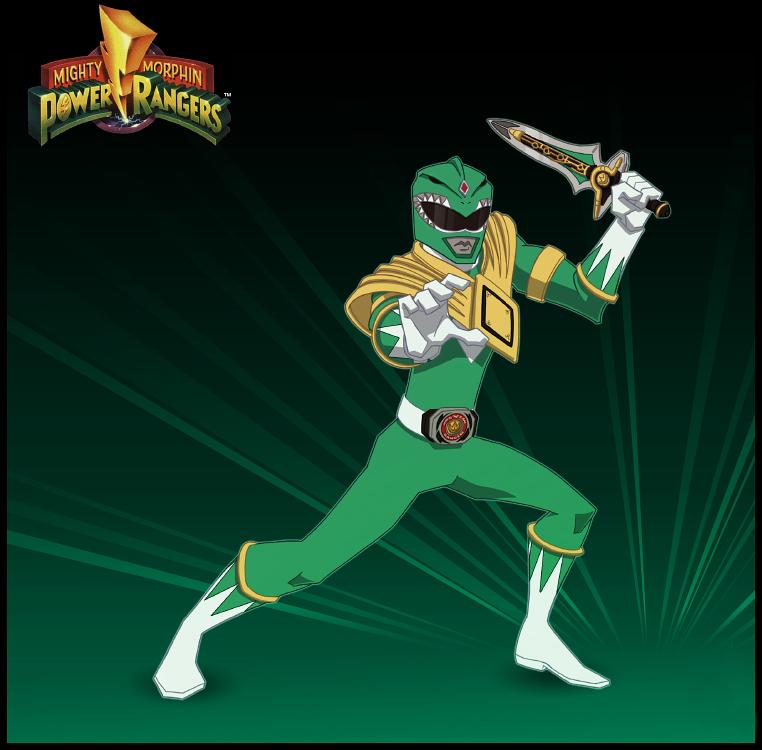 Mighty Morphin Power Rangers Wallpaper: MMPR Green Ranger By PsychoGreenWhite On DeviantArt