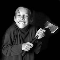 The boy with the axe II