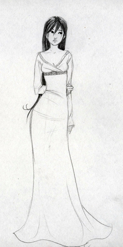 princess character sketch by gerre