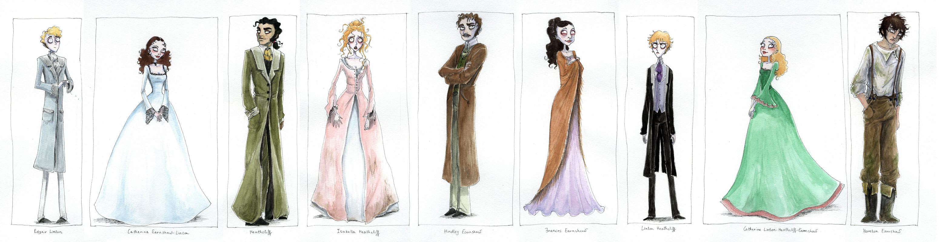 wuthering heights characters by gerre on  wuthering heights characters by gerre wuthering heights characters by gerre