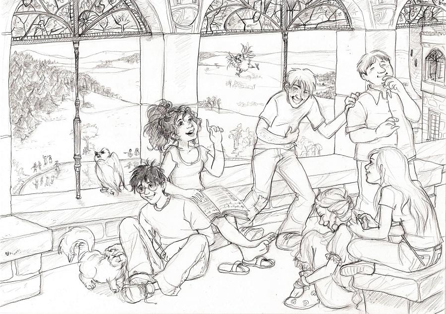 Hermione tells a joke by gerre