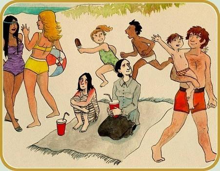 Severus' Summer Holiday