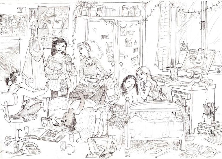 babysitters club coloring pages - photo#1