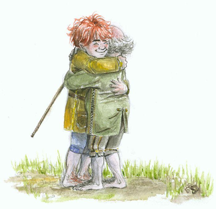 hobbit hug by gerre