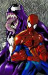 spidey venom colored