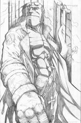 Hellboy by hanzozuken