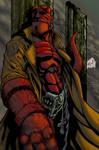 hellboy colored