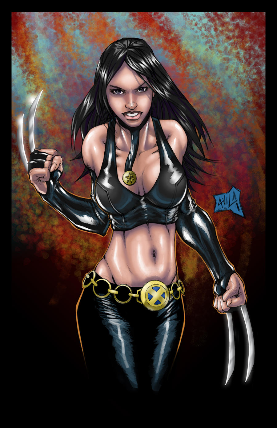 X-23 colors by hanzozuken