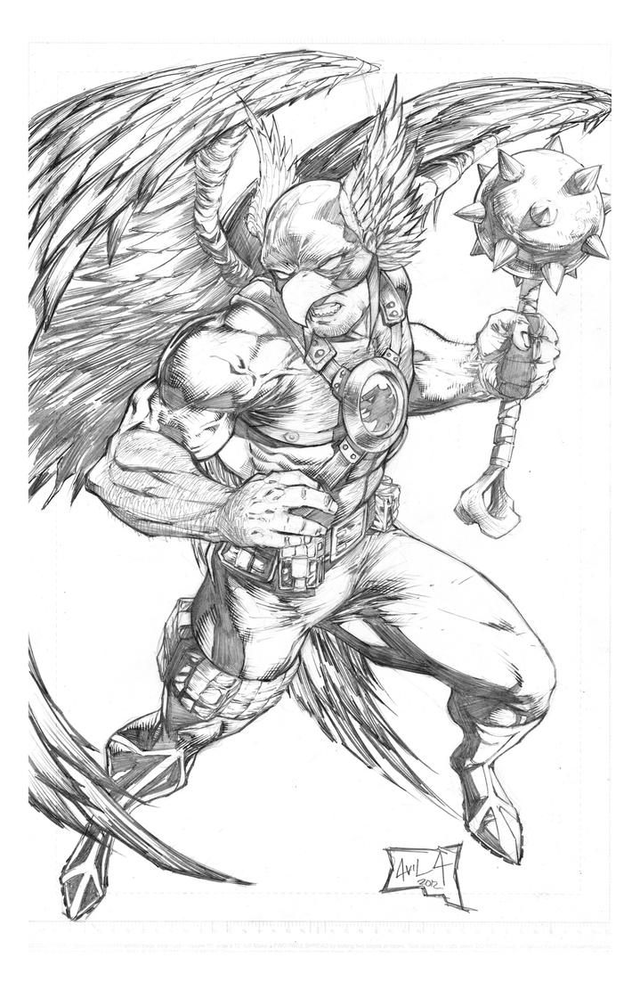 hawkman coloring pages - photo#13