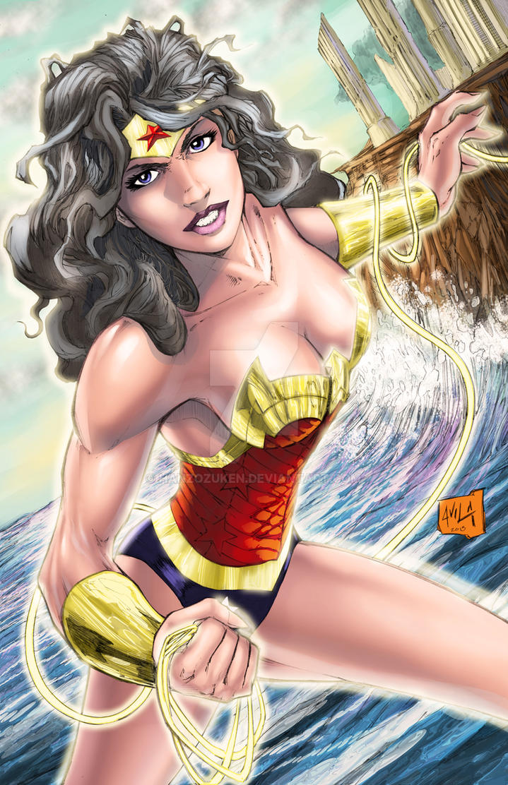 Wonder Woman colors by hanzozuken