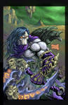 Death from Darksiders 2 colored