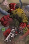 Hellboy 2013 colors