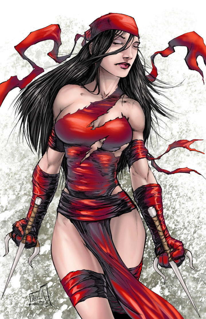 Elektra Colors by hanzozuken