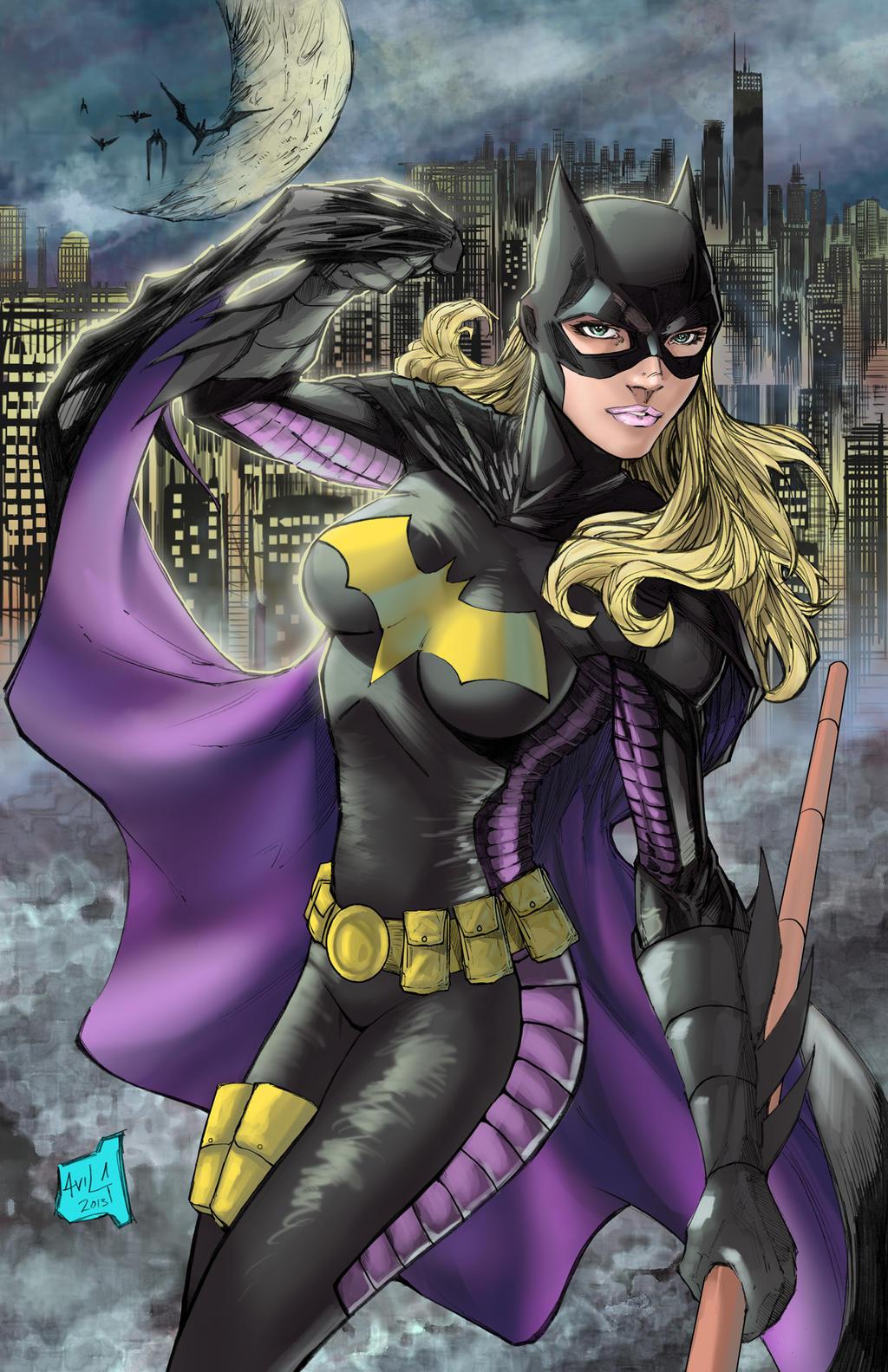 Batgirl Stephanie brown version by hanzozuken