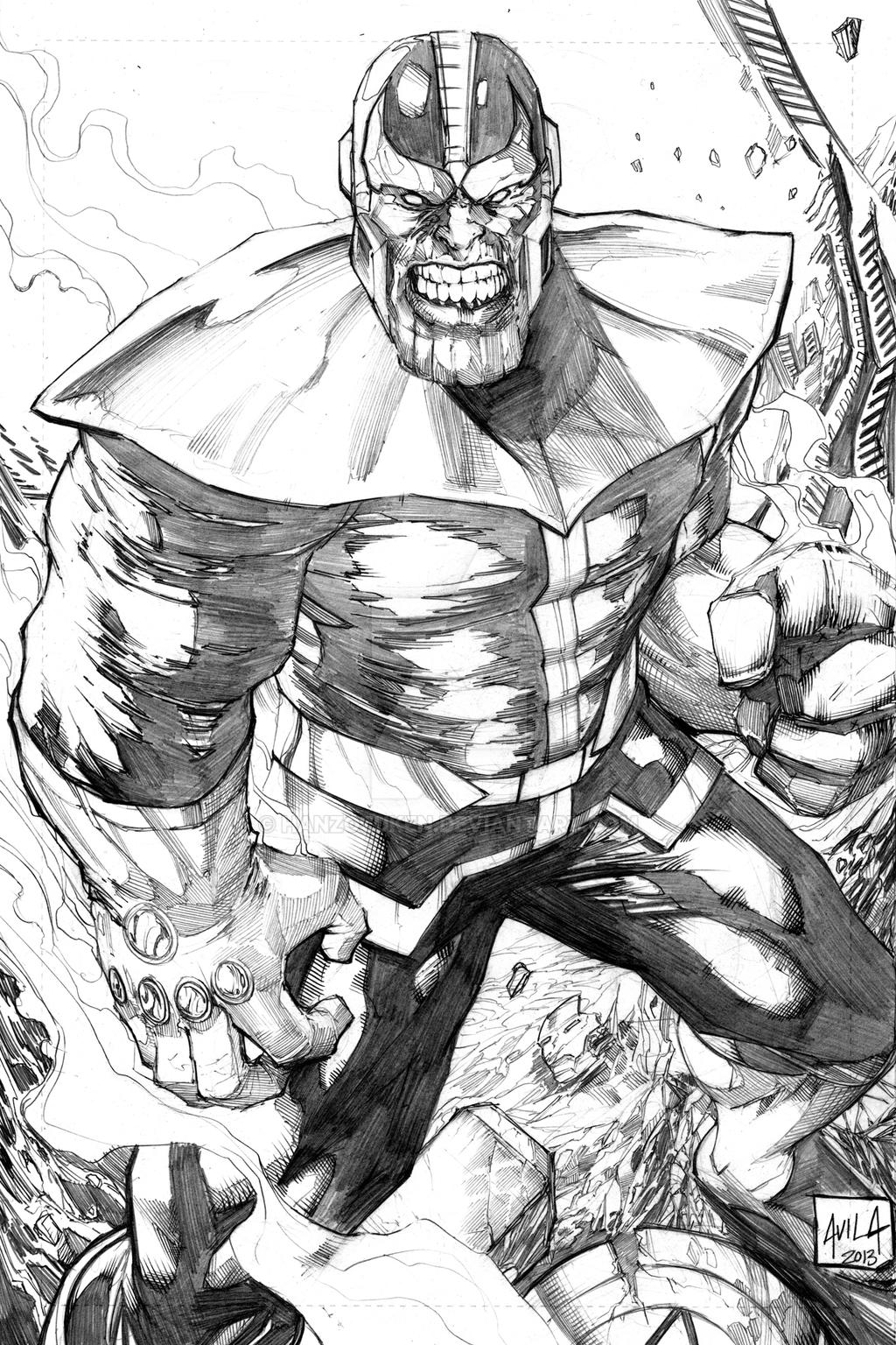 super hero coloring