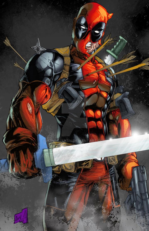 Deadpool 2013 colors by hanzozuken