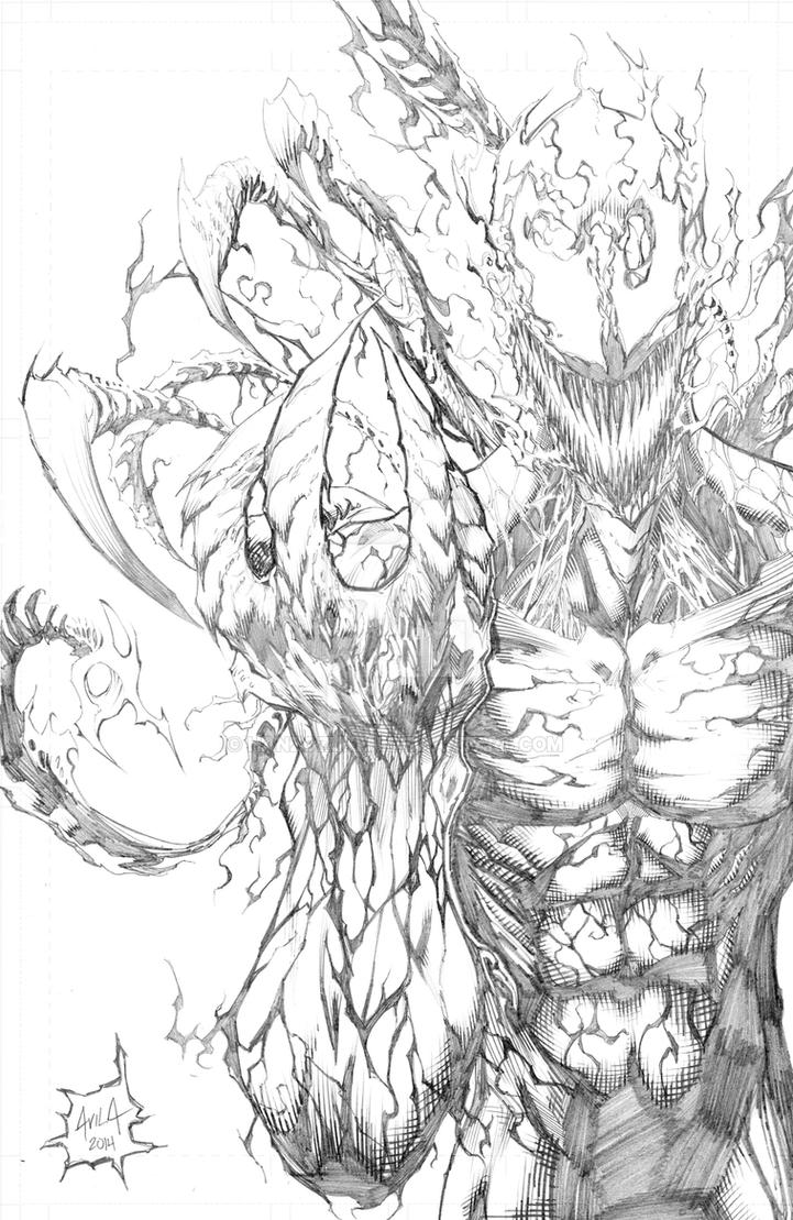Carnage Pencils by hanzozuken