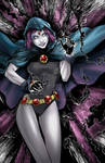 Raven from Teen Titans Colors