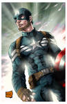 Captain America (Winter Soldier Outfit) colors