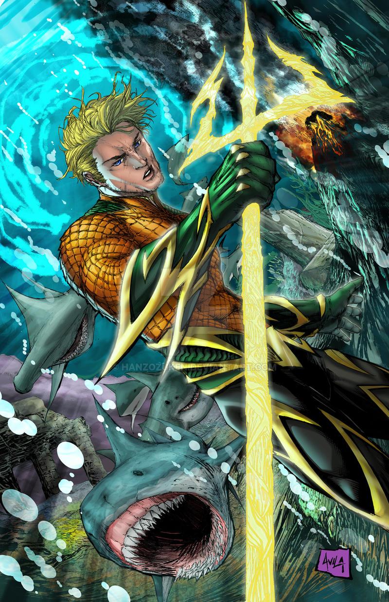 Aquaman Colors By Hanzozuken On Deviantart