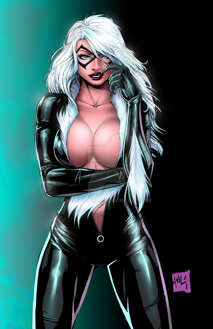 Can read art black cat fan nude you have